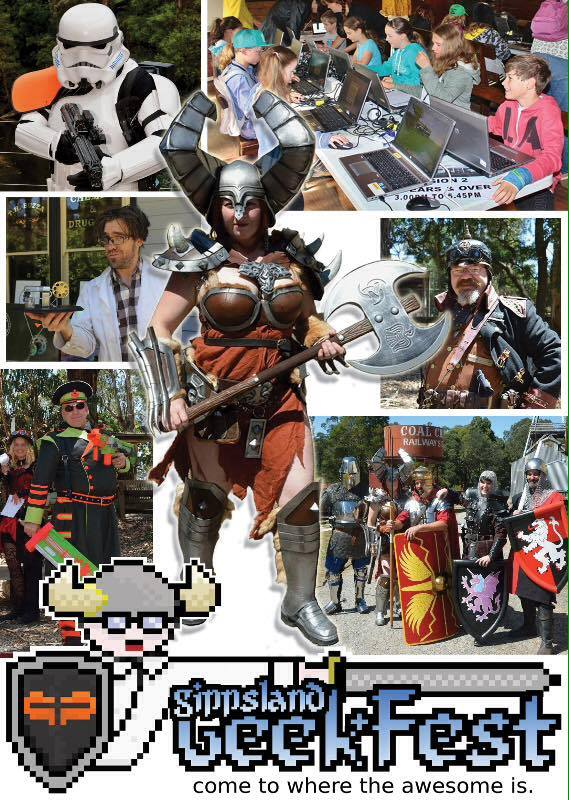 Geekfest collage