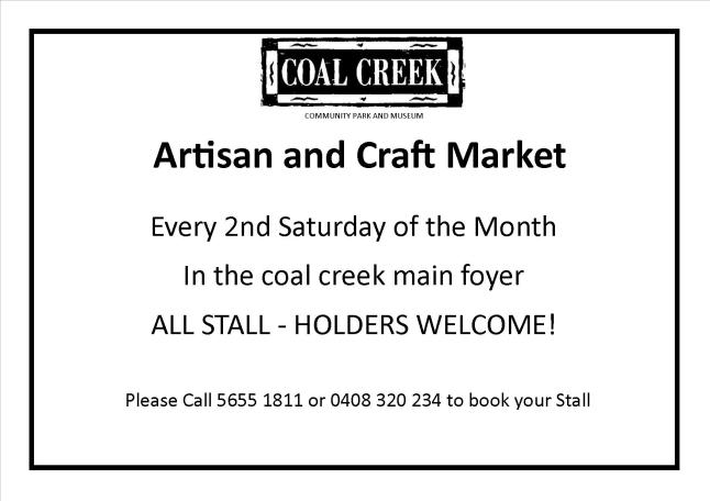 Coal Creek Artisan & Craft Market | Korumburra