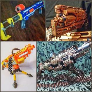 Steampunk nerfgun
