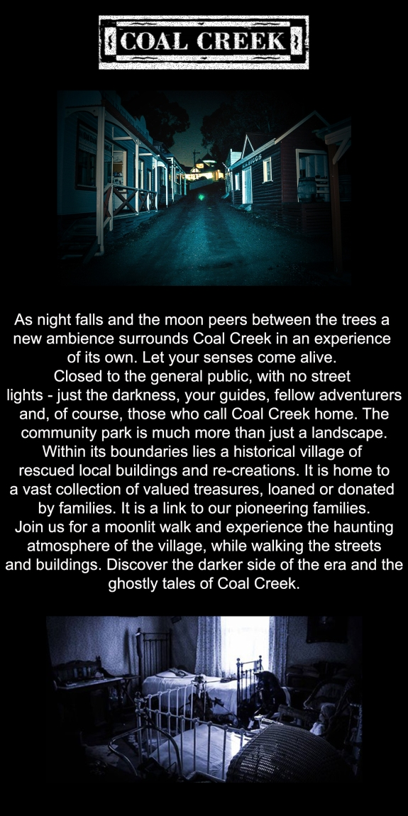 Ghost tour back