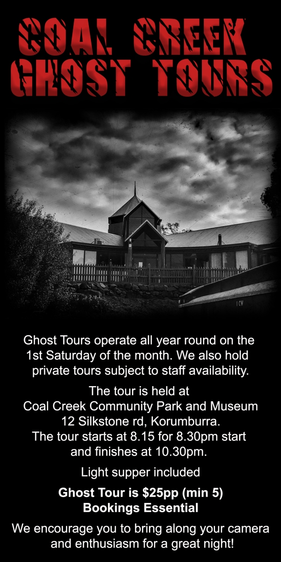 Ghost Tour Information