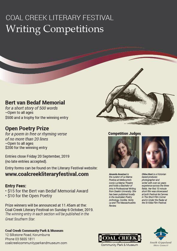 Literary Festival – Coal Creek Community Park and Museum