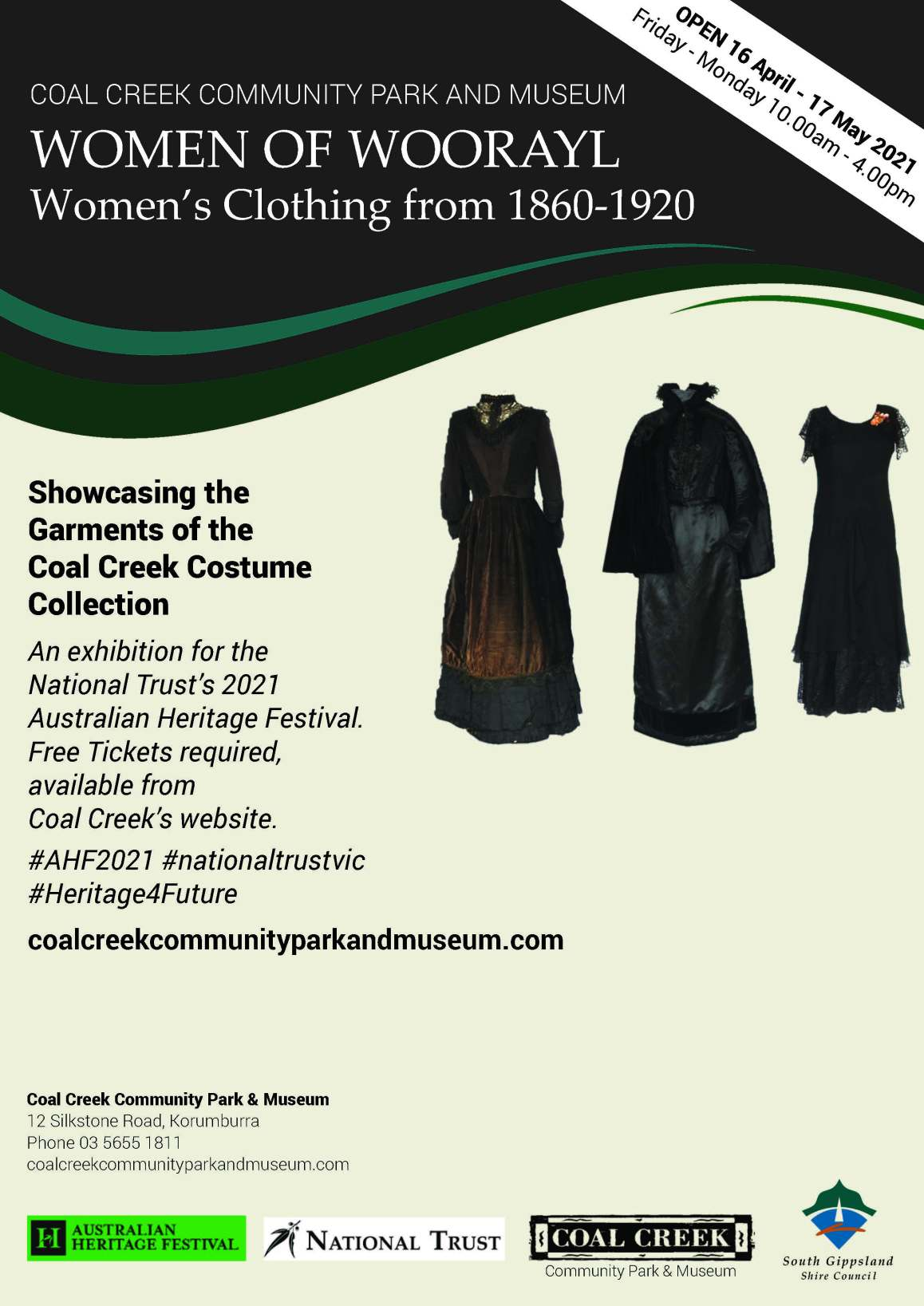 Women's Clothing Exhibition Flyer